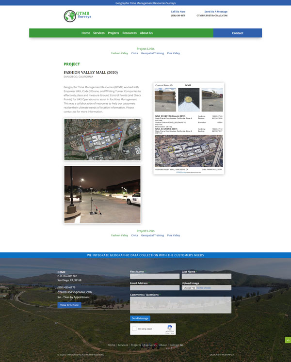 Donutopolis Web Design by Webamplo