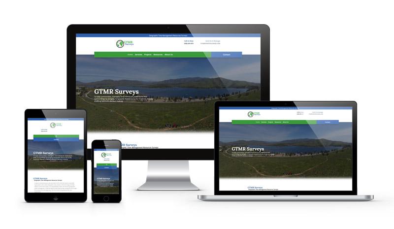 GTMR Surveys Web Design by Webamplo