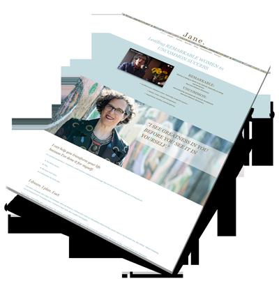 Jane Pollak Web Design Project