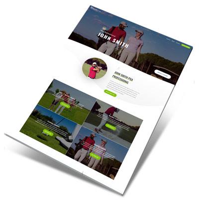Divi Golf Pro Design