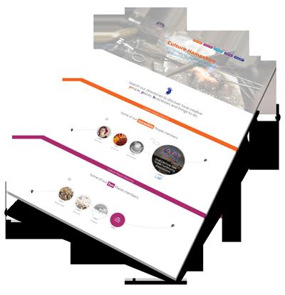 Culture Hampshire Web Design Project