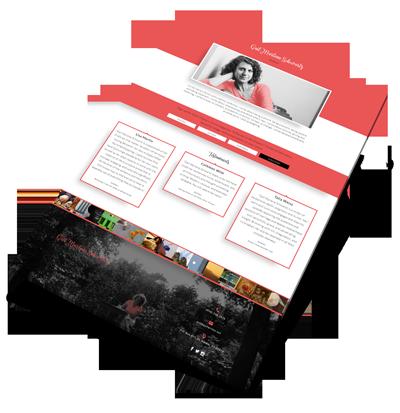 Gail Schwartz Web Design Project