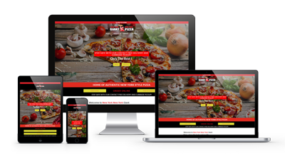 Divi Web Designer Project for New York Giant Pizza